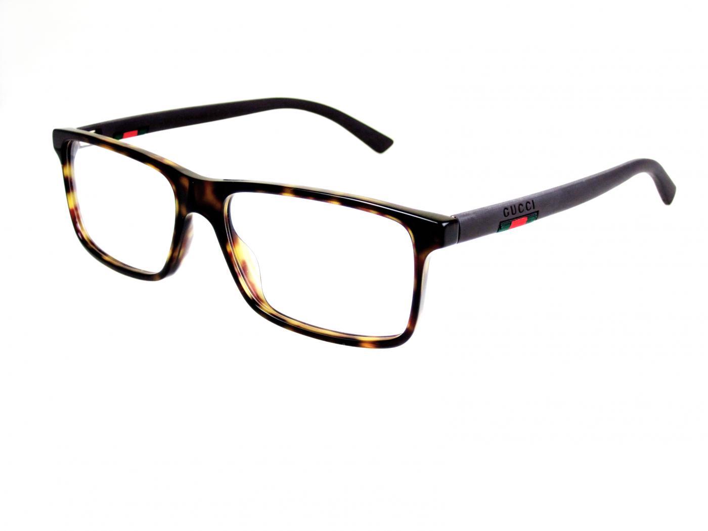 Pánske dioptrické okuliare Gucci 62c92aefd55