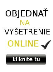 Objednať na vyšetrenie online